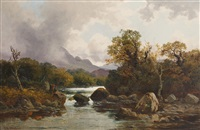 river landscape by john horace hooper
