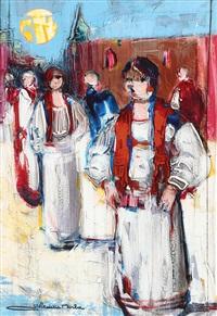 donne in costume by gianni sesia della merla