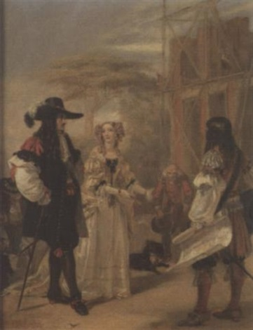discussing the plans by edward matthew ward