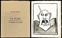 la plume (set of 14) by philippe geluck