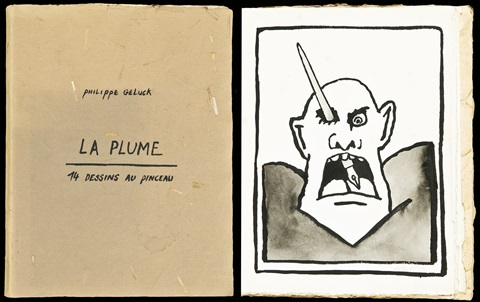 la plume set of 14 by philippe geluck