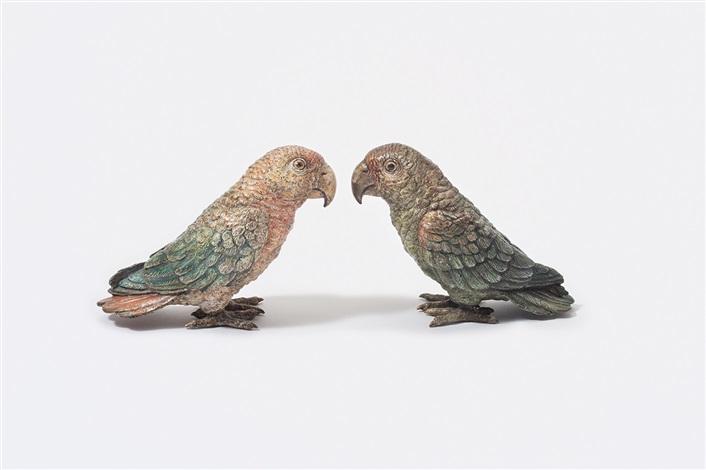 lovebirds (pair) by austrian school-vienna (20)
