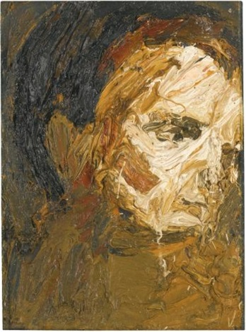 head of eow by frank auerbach