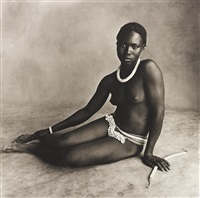 nubile young beauty of diamarè, cameroon by irving penn