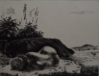 sunbath by louis lozowick
