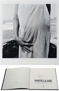 woman collecting shellfish, port saint jihns, transkei (from david goldblatt particulars, bk w/ 1 work) by david goldblatt