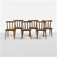 utö chairs (set of 6) by axel einar hjorth