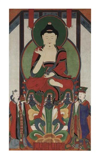 buddha of healing (bhaishajyaguru) by anonymous-korean (19)