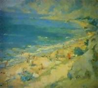 la plage de gourzouf by piotr smoukrovitch