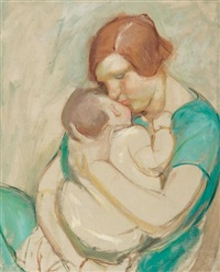mother and child by mary alexandra eastlake