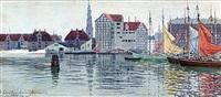 christianshavn (köpenhamn) by hjalmar falk
