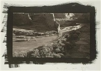 canyon de chelly from tsegi point, arizona by dick arentz