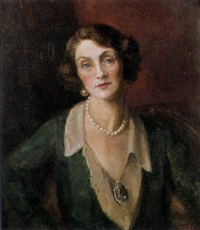 portrait of miss una o'connor by hedwig esther pillitz