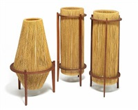 three floor lamps (various sizes) by ib fabiansen