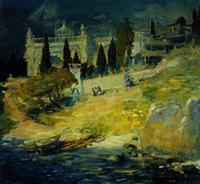le paysage de crimee by vassili brataniuk