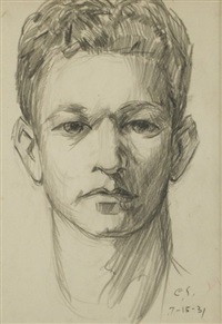self portrait by clyde singer