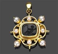 a brooch-pendant by elizabeth locke
