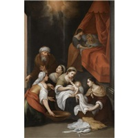 the birth of the saint john the baptist by francisco meneses osorio