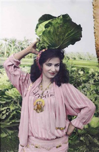 natasha and cabbage by youssef nabil