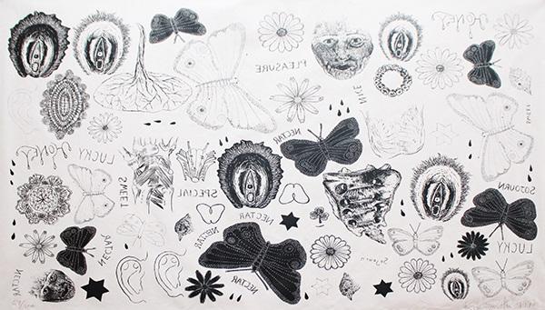tattoo print by kiki smith