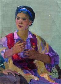 autoportrait présumé by nina korotkova