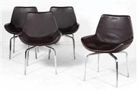 suite de quatres chaises modèle archetto (set of 4) by mauro lipparini