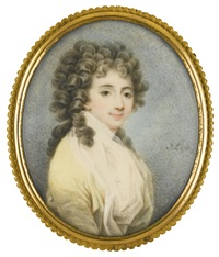 portrait of the countess sophia potocka by joseph leski