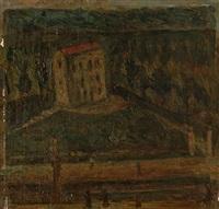 gare - station l'asile by rené (victor) auberjonois