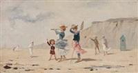 scène de plage by dante antonini