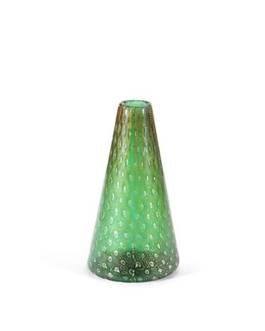 Conical Vase By Seguso Vetri Darte Co On Artnet