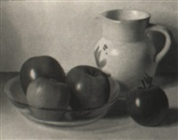 nature morte aux pommes by jacques blanchard