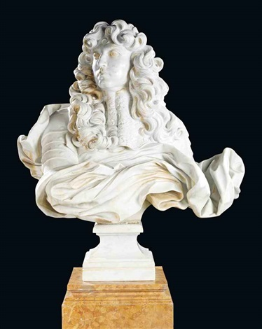 bust of louis xiv by gian lorenzo bernini