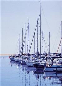 yachts in marina by virgilio raposo