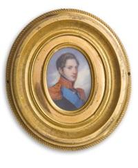 portrait of emperor nicholas i by vasili andreevich tropinin