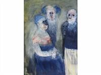 trois personnages by malek lehoussine