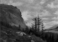 mt. desert, maine by louis c. ewer