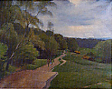 hamstead heath may by maurice field
