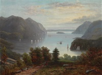 view of west point, new york by paul ritter
