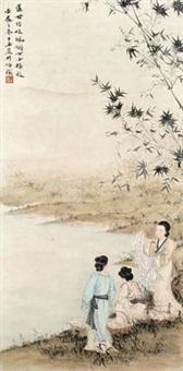仕女图 by deng ziyu