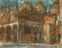 la basilique saint-marc de venise by marcel françois leprin