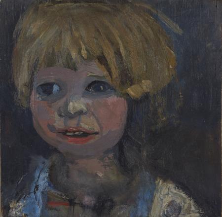 childs head by joan kathleen harding eardley