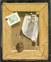 trompe l'oeil by kenneth southworth davies