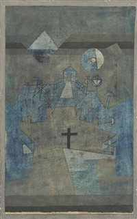dünenfriedhof by paul klee