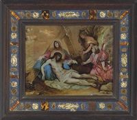 the entombment by luca giordano