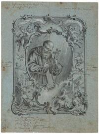 der heilige seraphinus by vitus felix rigl