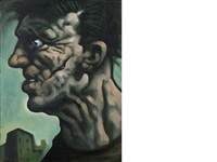 scar face by peter howson