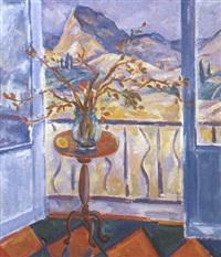 la crimée. le balcon by valentina rakhina