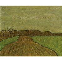 p.e.c., ploughed strip by barker fairley