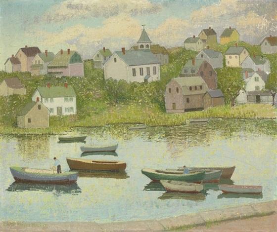 new england in september (riverdale, gloucester, massachusetts) by emma fordyce macrae