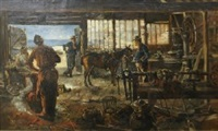 the blacksmith by richard godfrey rivers